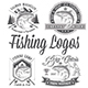 Vector Editable Fishing Logos - GraphicRiver Item for Sale