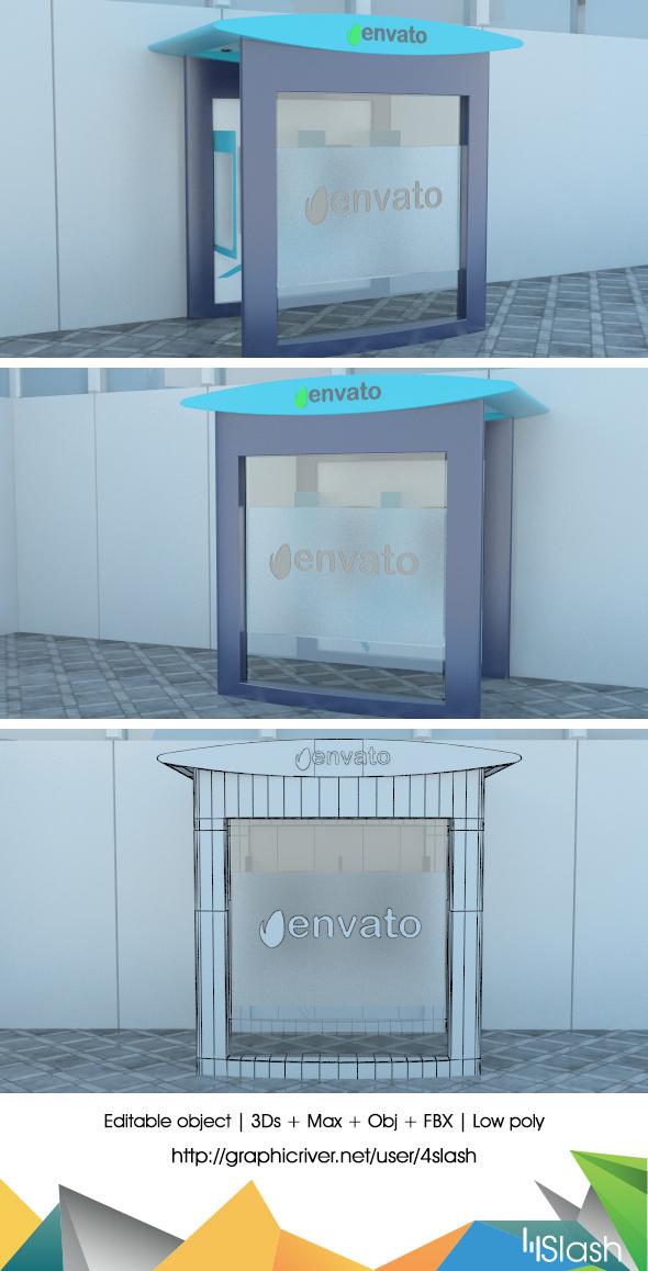 3d ATM Machine - 3DOcean Item for Sale