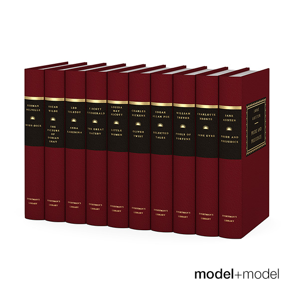 Everyman's library classics - 3DOcean Item for Sale