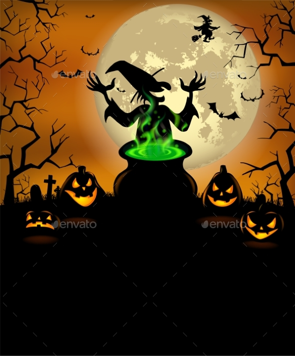 Halloween Menu Template by Azzzzya   GraphicRiver