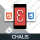 Chalis Mobile | Mobile Template - ThemeForest Item for Sale