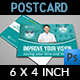 Optometrist & Optician Postcard Template - GraphicRiver Item for Sale