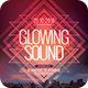 Glowing Sound Flyer - GraphicRiver Item for Sale