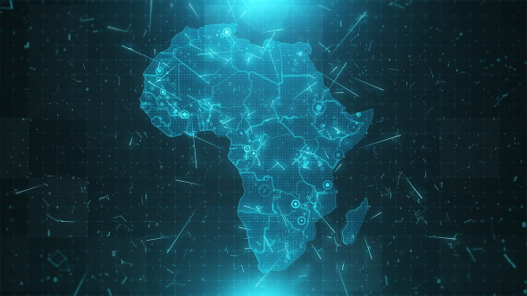 Africa Map Background.Africa Map Background Cities Connections 4k By Rodionova Videohive