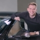 Happy Man Hold a Keys From Electric Car - VideoHive Item for Sale