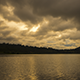 Sun Setting Over Lake - VideoHive Item for Sale