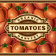 Retro Tomato Harvest Label - GraphicRiver Item for Sale