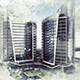 Architecture Sketch Art Photoshop Action - GraphicRiver Item for Sale