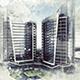 Architecture Sketch Art Photoshop Action - GraphicRiver Item for Sale