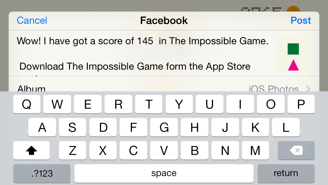 The impossible game deluxe edition ios 10 and swift 3 ready by the impossible game deluxe edition ios 10 and swift 3 ready malvernweather Choice Image