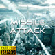 Missile Attack - VideoHive Item for Sale
