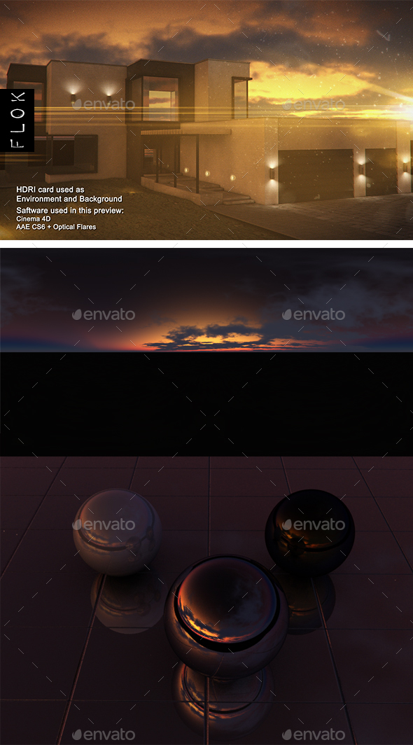 Sunset Desert 82 - 3DOcean Item for Sale