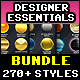 270+ Texteffects Bundle - GraphicRiver Item for Sale