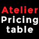 ATELIER - Responsive Bootstrap Pricing Table - CodeCanyon Item for Sale