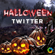 Halloween Twitter Header - Image Included