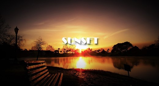 SUNSET FOOTAGE COLLECTION
