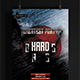Hard Bass Party Flyer Template - GraphicRiver Item for Sale