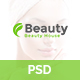 Beautyhouse - Health & Beauty PSD Template