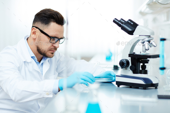 Chemist at work - Stock Photo - Images