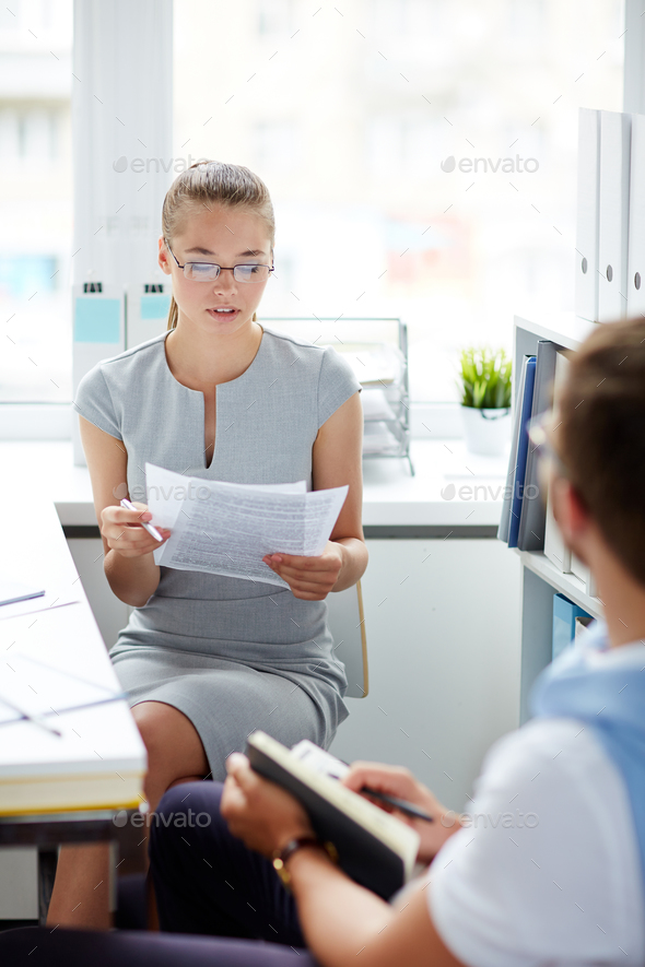 Business report - Stock Photo - Images