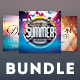 Summer CD Cover Bundle - GraphicRiver Item for Sale