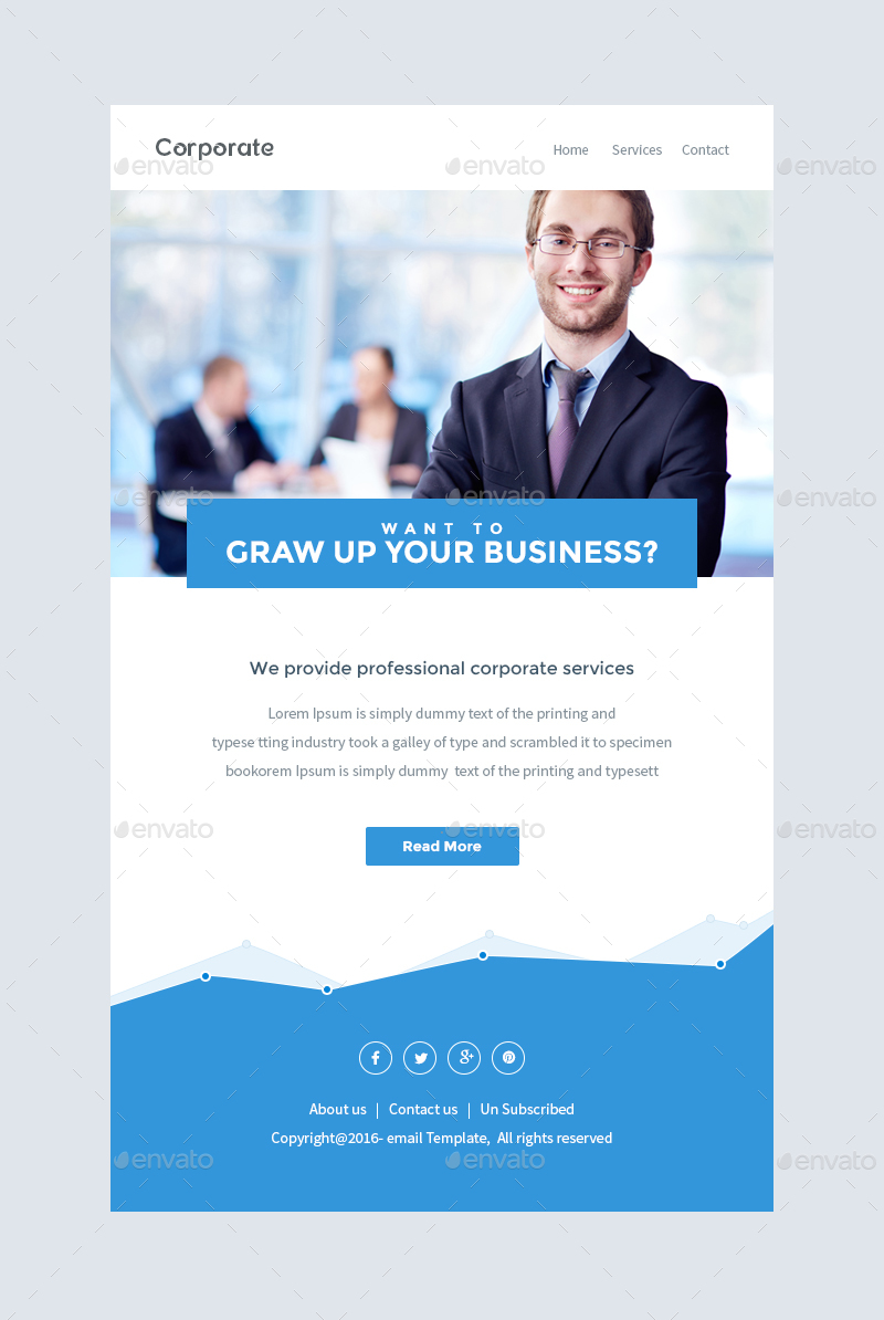 Notify notification email template psd by kalanidhithemes preview19 corporateg flashek Images