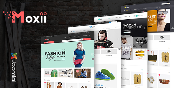 Vina Moxii – Responsive Fashion VirtueMart Template