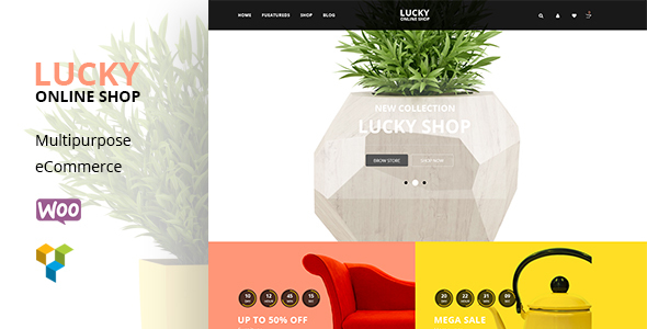 Lucky Shop -  Furniture RTL WooCommerce WordPress Theme - WooCommerce eCommerce