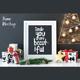 Christmas Frame Mockup - GraphicRiver Item for Sale
