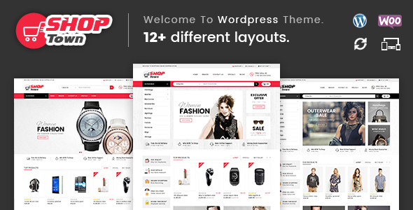 Shop Town - Multipurpose WooCommerce Theme - WooCommerce eCommerce