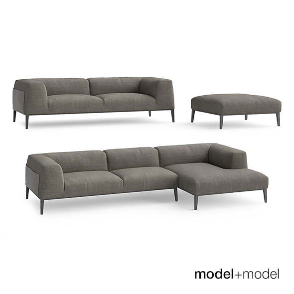 Poliform Metropolitan sofas - 3DOcean Item for Sale