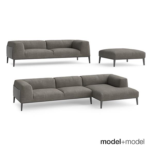 Poliform Metropolitan sofas - 3DOcean Item for Sale