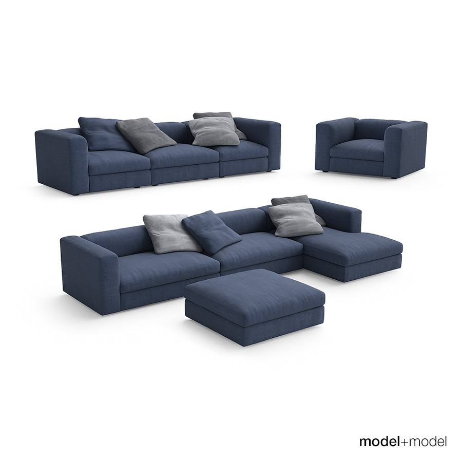 poliform dune sofa what a lovely sofa for your sunday relaxation poliform dune thesofa. Black Bedroom Furniture Sets. Home Design Ideas