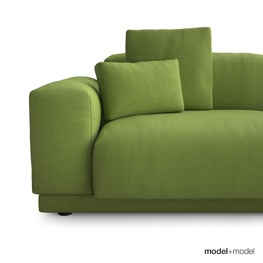 vitra place sofas by modelplusmodel 3docean. Black Bedroom Furniture Sets. Home Design Ideas