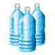 Isolated blue bottles of clean water - GraphicRiver Item for Sale