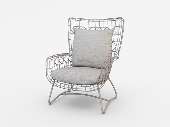 PALECEK CAPRI OUTDOOR WING DINING CHAIR BLACKPALECEK CAPRI OUTDOOR WING DINING CHAIR BLACK by MasvaxLab   3DOcean. Palecek Dining Chairs. Home Design Ideas