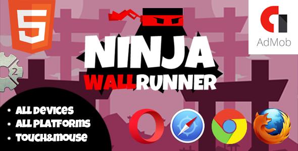 NinjaWallRunner - CodeCanyon Item for Sale