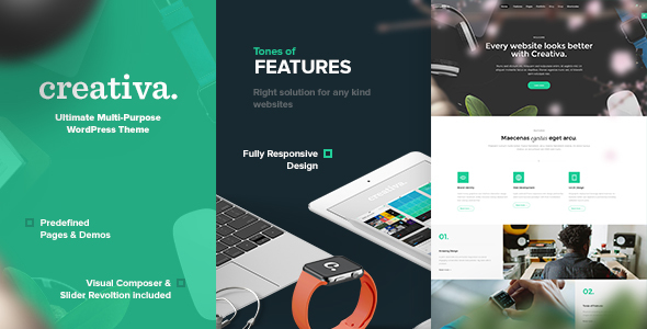 Creativa – Ultimate Multi-Purpose WordPress Theme