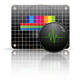 Television test chart with oscillograph - GraphicRiver Item for Sale