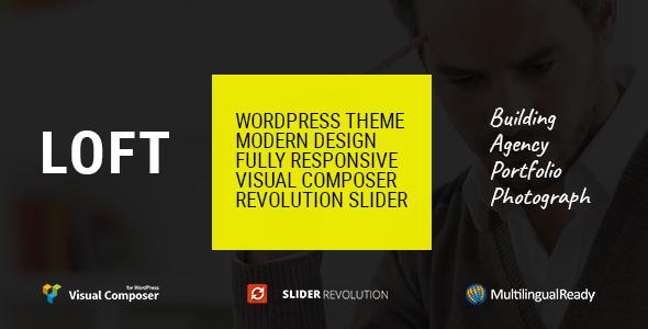 Loft - Agency/Portfolio WordPress Theme - Creative WordPress