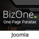 BizOne - One Page Parallax Joomla Template - ThemeForest Item for Sale