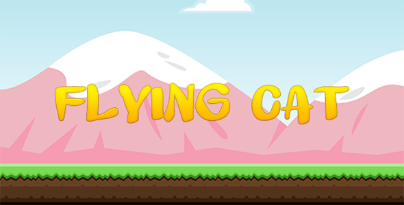 Flying Cat - Construct 2 Game Template - CodeCanyon Item for Sale