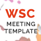 WSC Meeting - Multipurpose Meeting Template Nulled