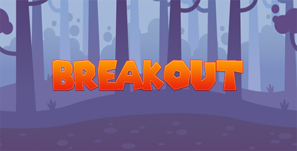 Breakout - Construct 2 Game Template - CodeCanyon Item for Sale