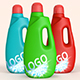 Liquid Detergent - 3DOcean Item for Sale