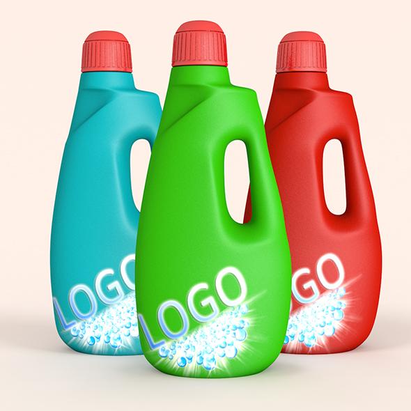 Liquid Detergent - 3DOcean Item for Sale