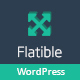 Flatible - Single Page WordPress Theme - ThemeForest Item for Sale