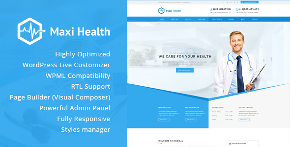 Medicare - Medical & Health HTML Template - 19