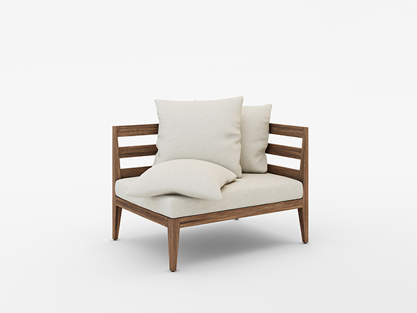 WEST ELM JARDINE OUTDOOR FURNITURE SET by MasvaxLab