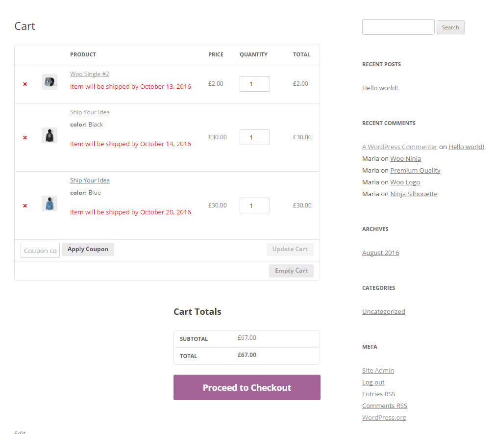 Woocommerce dating site